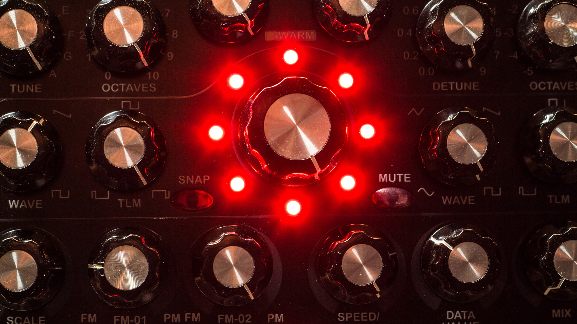 Radikal Technologies RT-311 Swarm Oscillator with red lights