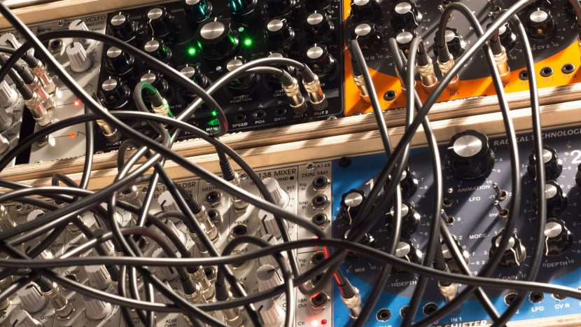 Radikal Technologies Eurorack Modules in action