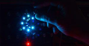 RT-311 blue LEDs in the dark