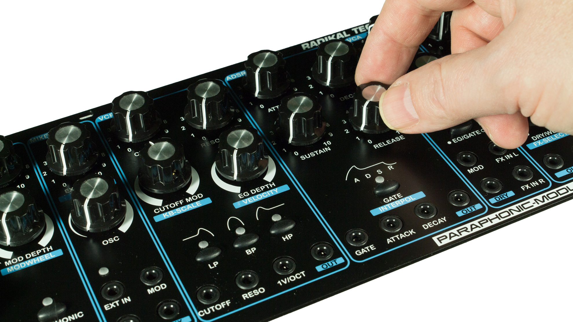 DELTA CEP A - Paraphonic Modular Synthesizer