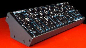 The beautiful case for the Delta CEP A synthesizer.