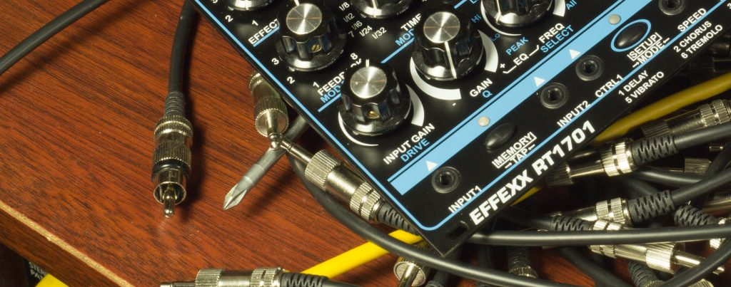 EFFEXX Multi FX Processor for Eurorack Modularsynthesizer.