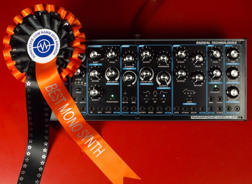 DELTA CEP A wins Sonicstate NAMM Award!